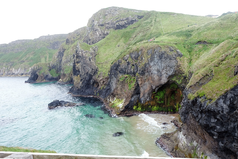 The view from Carrick-a-Rede Rope Bridge