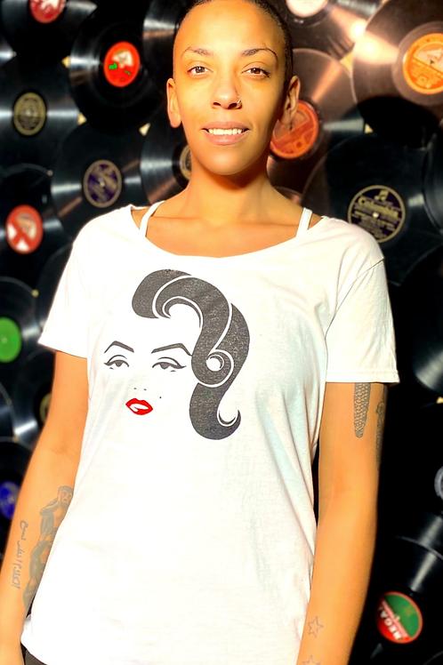 Marilyn Monroe portrait T-shirt