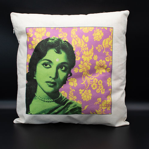 Green Bollywood Cushion Cover