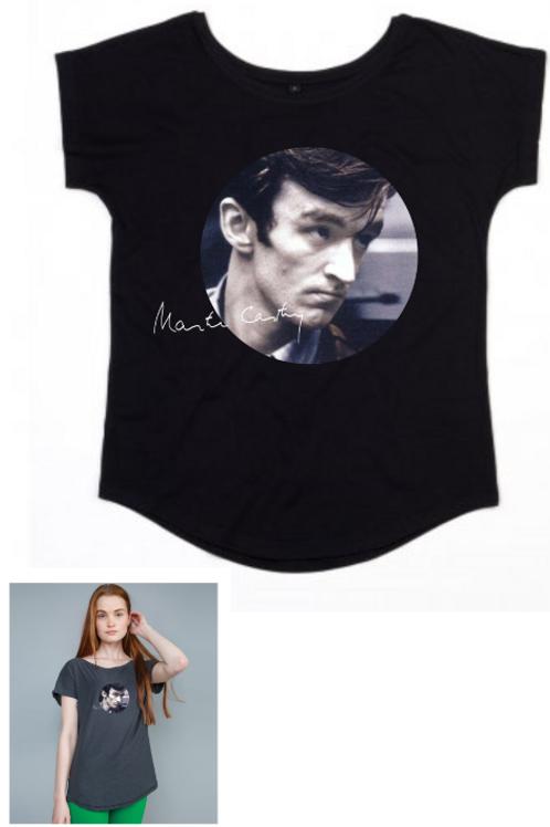 Ladies Black T-shirt - Colour Photo