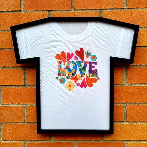 Love hite T-shirtw