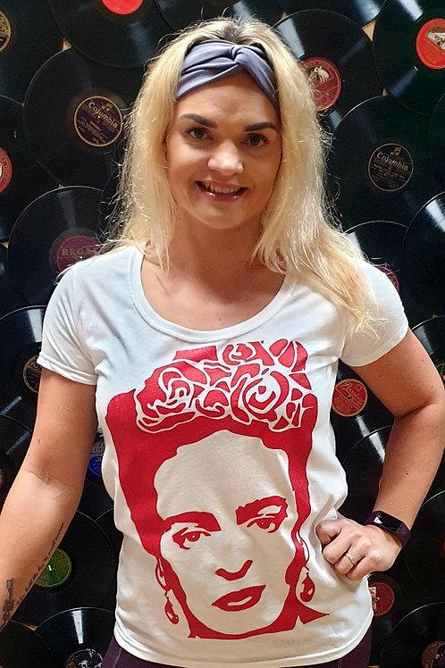 Frida Kahlo White  T-shirt
