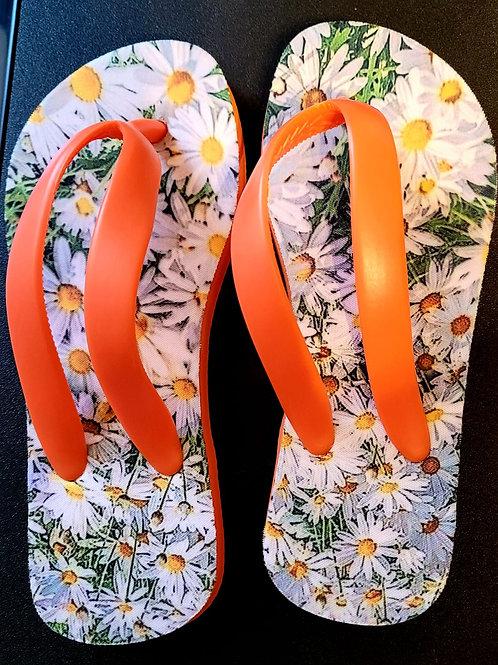 Flower flip-flops