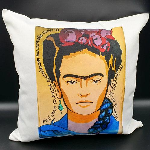 Spanish Frida Kahlo Cushion Cover