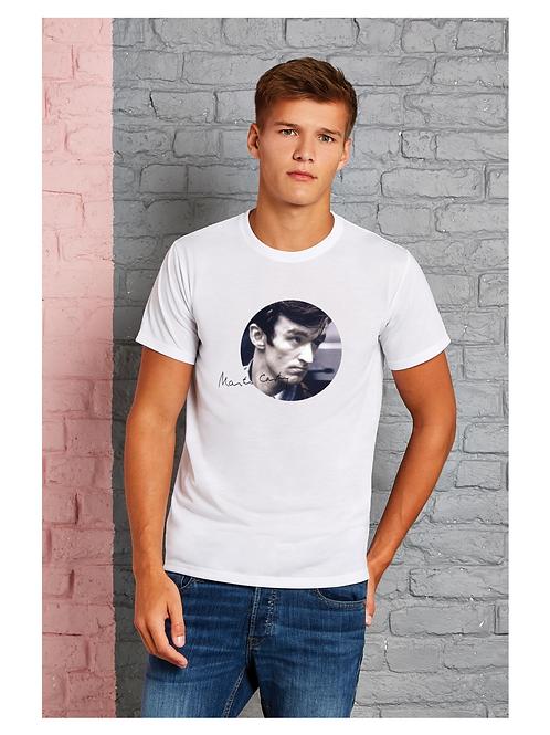 White T-shirt - B&W Photo