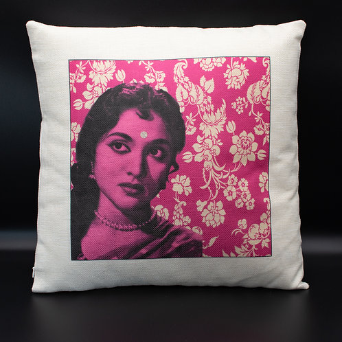 Pink Bollywood Cushion Cover