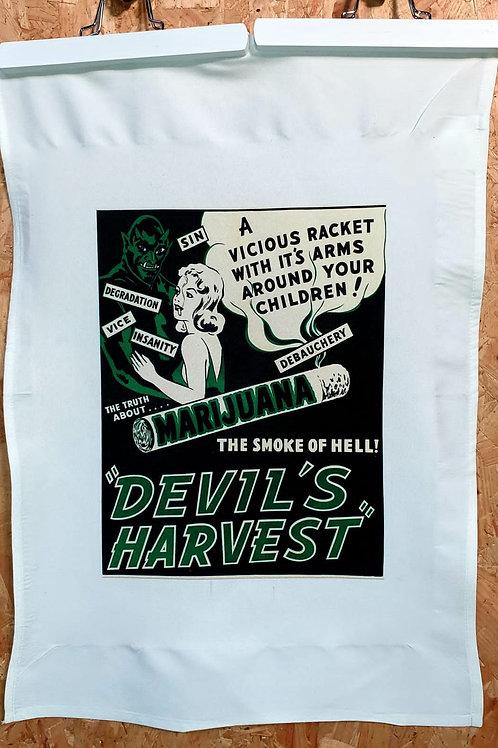 Devils Harvest Tea Towel