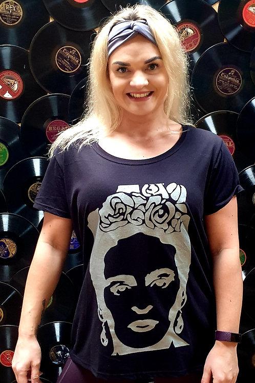 Frida Kahlo Black T-shirt