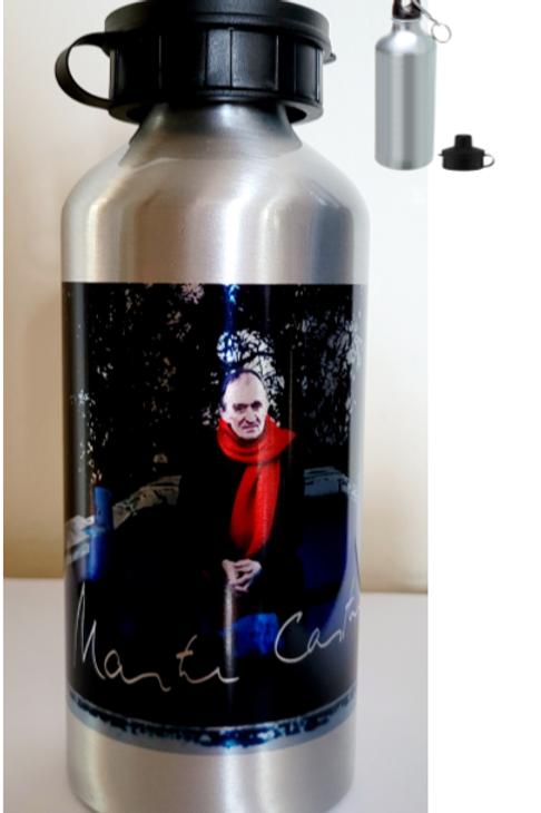 Silver Water Bottle - Colour Photo