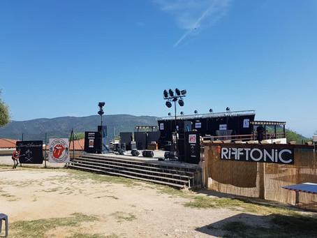 RIFF TONIC - Andromeda (live extract) @Festival de l'Abadie