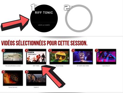 Clip Revolution classé 1er ! @Tremplin Music Selection