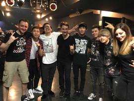 Great japanese musicians we met !