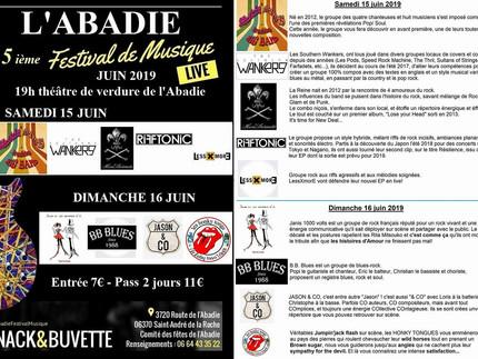 Festival de musique de l'Abadie