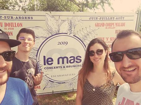 RIFF TONIC @Le Mas des Escaravatiers