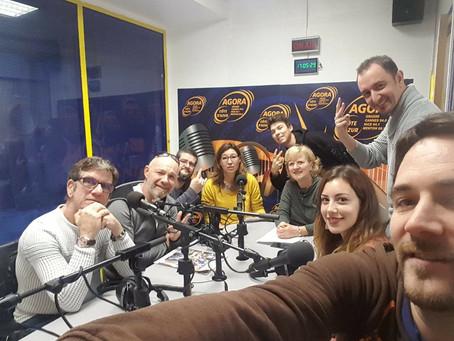Thank you Agora FM Côte d'Azur !
