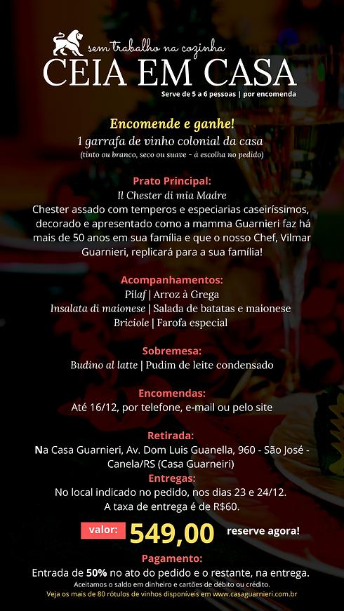 222CEIA DE NATAL EM CASA GUARNIERI CANEA