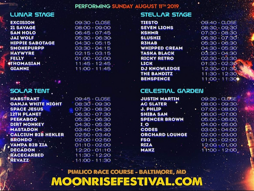 Don't Sleep on These Eight Moonrise Festival Artists - Part 2: Sun, Aug. 11th