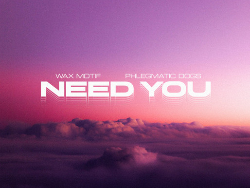 """Wax Motif and Phlegmatic Dogs Team Up for Power Packed Single """"Need You"""""""