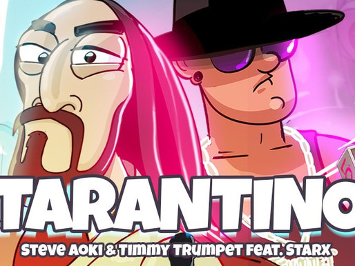 "Steve Aoki And Timmy Trumpet Drop Masterful Track ""Tarantino"""