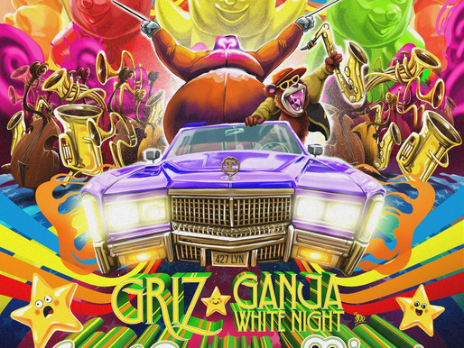 """GRiZ And Ganja White Night Team Up For Funky Bass Anthem """"Ease Your Mind"""""""