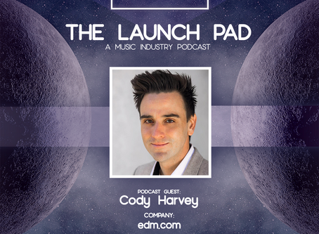 Cody Harvey of EDM.com Joins Moon Lvnding on The Launch Pad