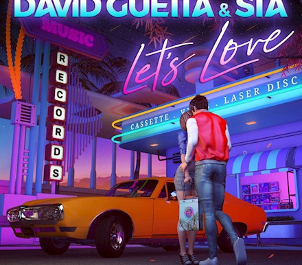 """David Guetta And Sia Deliver 80s Sounding New Wave """"Let's Love"""""""