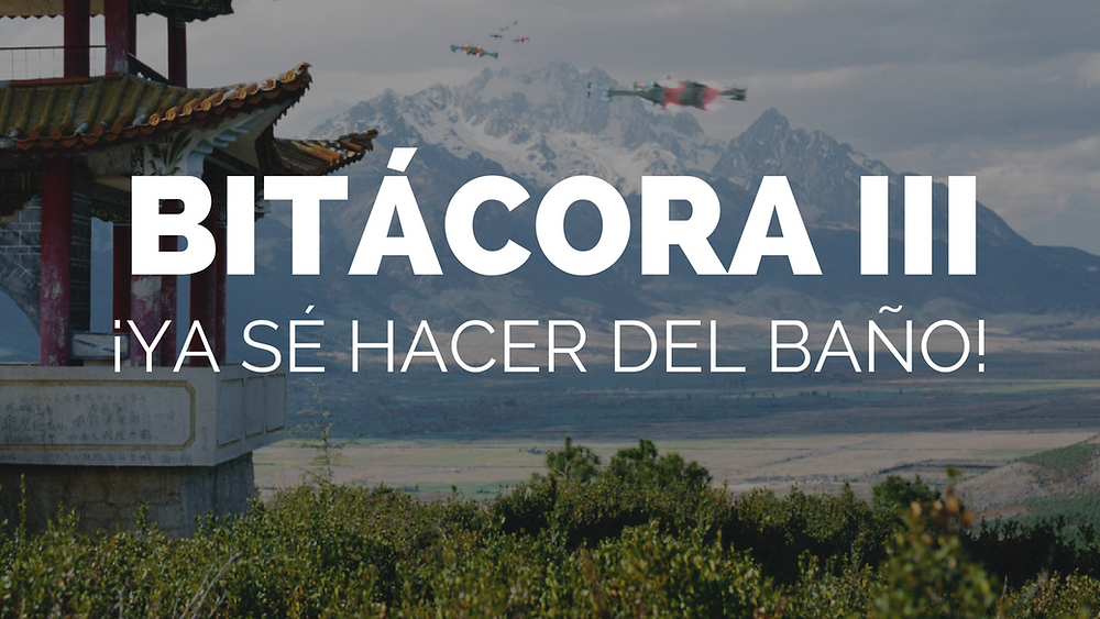 BITÁCORA III: ¡Ya sé hacer del baño! | Paola Ahtziri