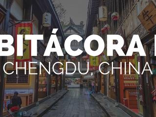 BITÁCORA I: Chengdu,China.