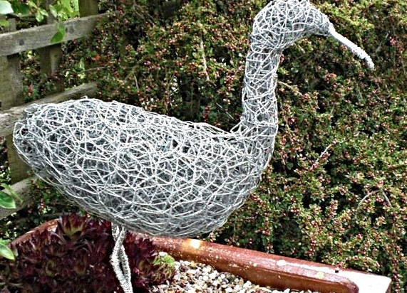 Wirework Wading Bird