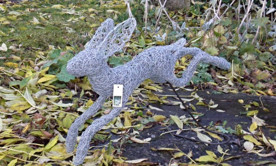 Wirework Leaping Hare