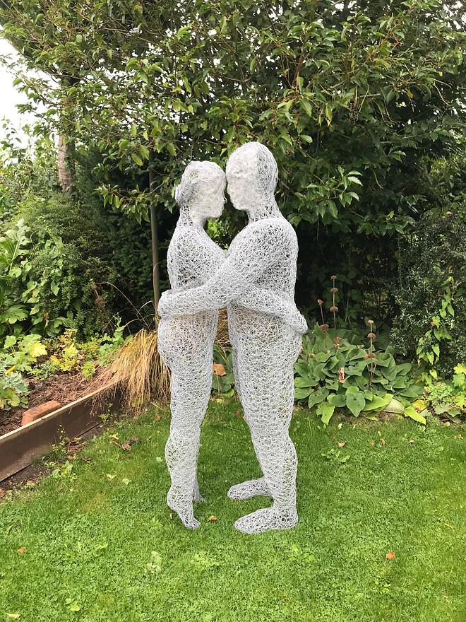 Wirework Loving Couple