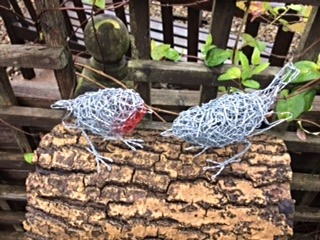 Chicken Wire Robin