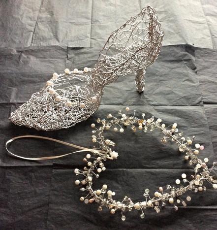 Beaded Heart & Shoe
