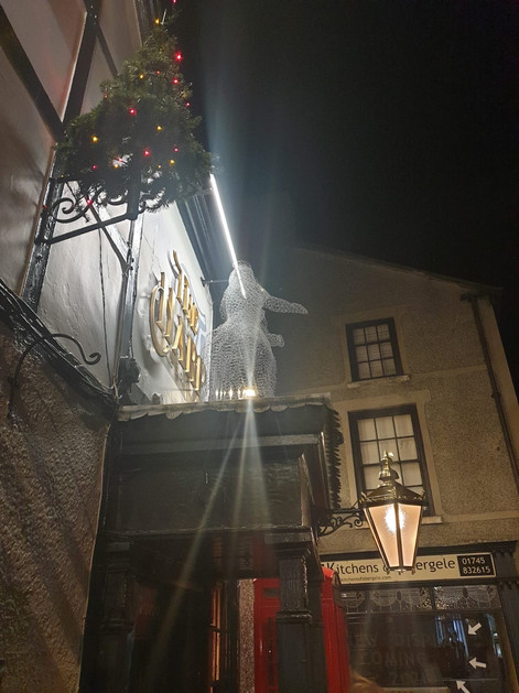 Wirework Ghostly Lady - Abergele