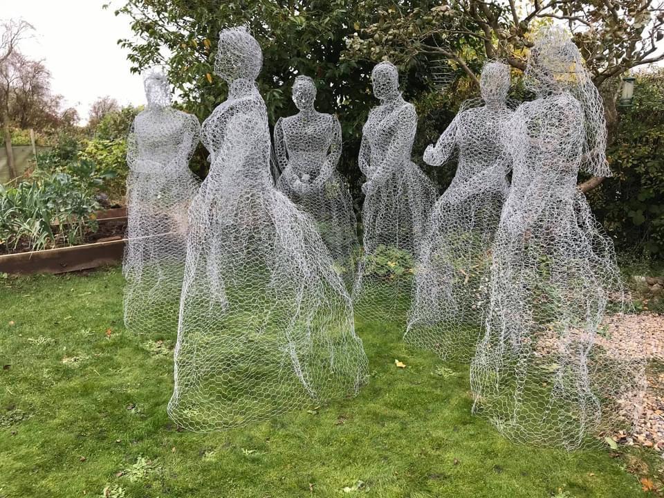 Wirework Ghost Ladies