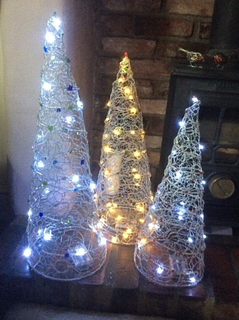 Wirework Christmas Trees