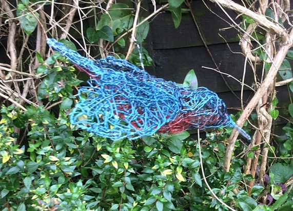 Wirework Diving Kingfisher