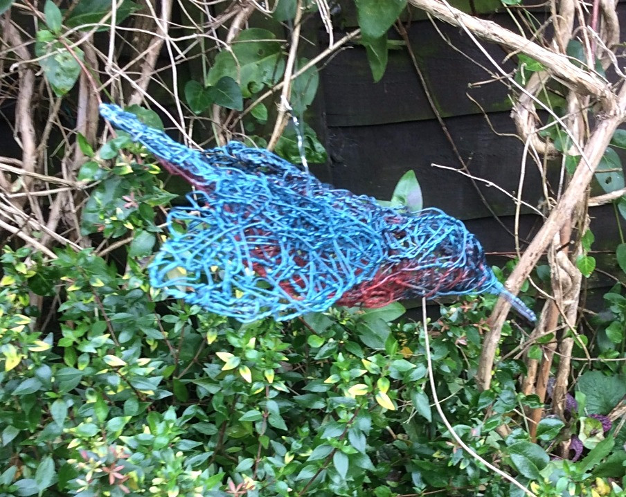 Wirework Diving Kingfisher