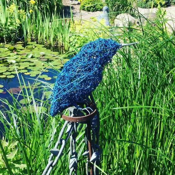 Wirework Kingfisher
