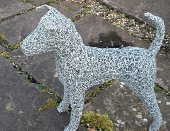Wirework Small Dog