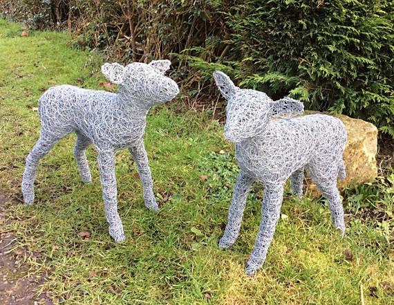 Wirework Lambs