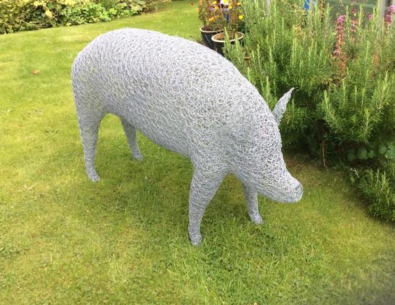 Wirework Large Pig