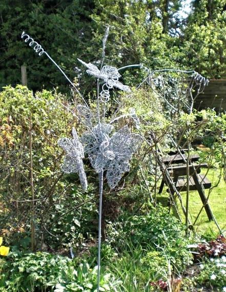 Wirework Large Flower Spray