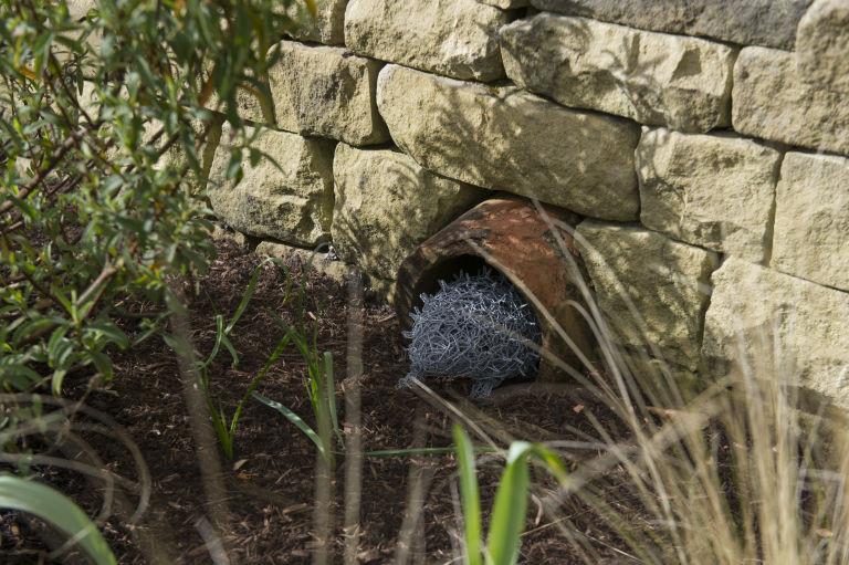 Wirework Hedgehog for Hedgehog Street RHS