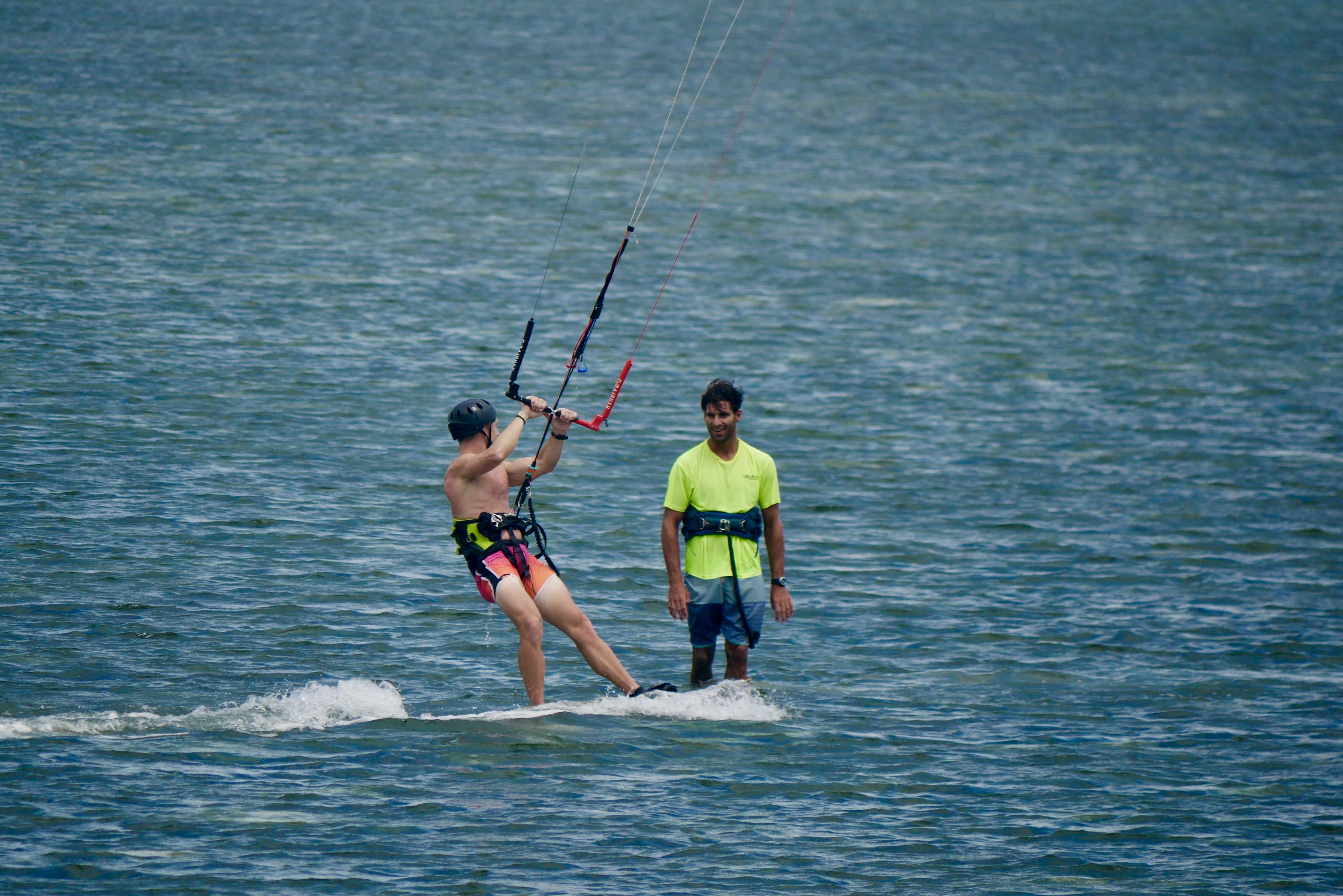 learn kitesurfing