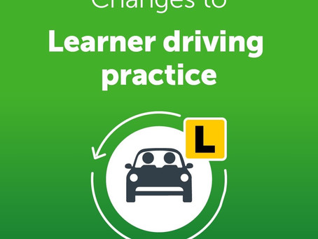 Changes to learner Driving Habits