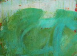 Grün unter Wasser 80 x 60