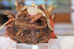 Detail Barke im Festtagskleid
