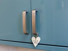 Kitchen cupboard detail