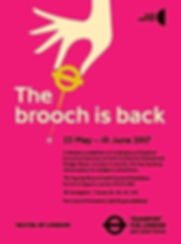 The brooch is back poster